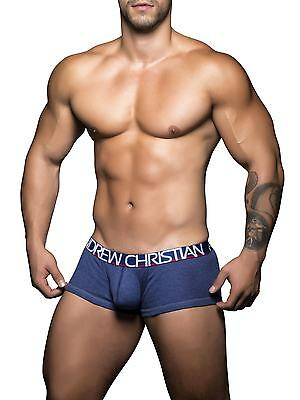 ANDREW CHRISTIAN 90136 Push-Up Herren Boxer Trunk Boxershorts Panties