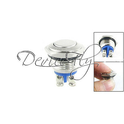 16mm Start Horn Button Momentary Stainless Steel Metal Push button Switch Round