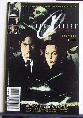 Topps Comics Present The X-Files Feature Film Adaptation Graphic Novel