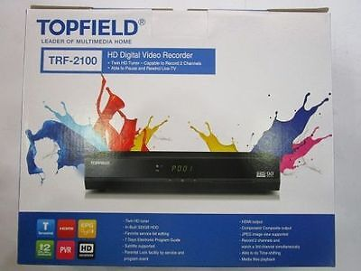 Brand New Topfield TRF-2100 PVR 320 GB with one Free 1.8M HDMI Cable
