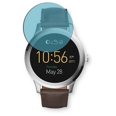 Golebo Screen Film for Privacy protection blue for Fossil Q Founder 2.0