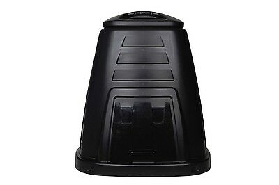 Compost Bin 220L Recycle Garbage Garden Outdoor Composter Black