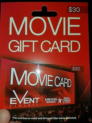 Greater Union Event Cinema gift card