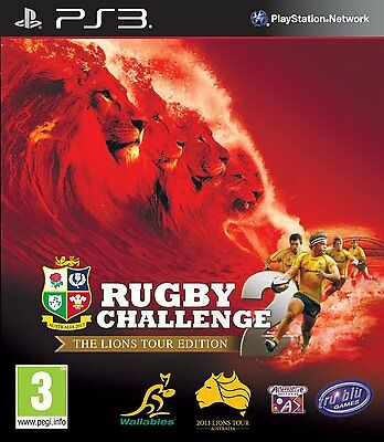 Rugby Challenge 2 - The Lions Tour Edition (PS3) BRAND NEW SEALED