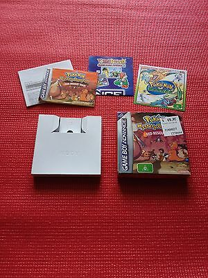 Pokemon Mystery Dungeon Red Rescue Team, BOX ONLY, Game Boy Advance, GBA