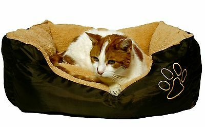 Furs & Purrs Beautifully Soft and Cosy Bed for Cats or Small Dogs