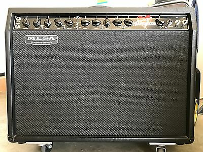 Mesa Boogie Heartbreaker 100watt/60 switchable Valve with cover  and Wheels