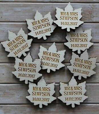 Fairytale Storybook shaped PERSONALISED Wedding Table Confetti Scatter Favours