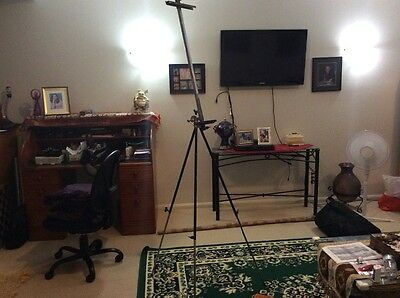 New Pro Heavy Duty Foldable 235cm Telescopic Tripod Easel Artist