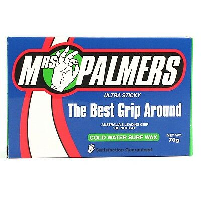 Mrs Palmers Ultra Sticky Cold Surfboard Wax