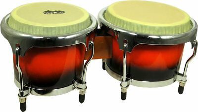 Atlas Heavy Duty Fibreglass BONGOS, very playable drums. From Hobgoblin Music