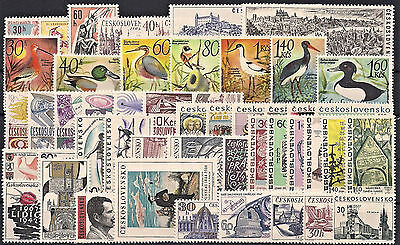 Czechoslovakia 1967, Complete Year Set Stamps + Sheets, **mnh**