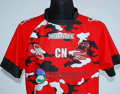 NEWSOME PANTHERS rugby shirt XAMAX jersey trikot maillot maglia camiseta 2XL