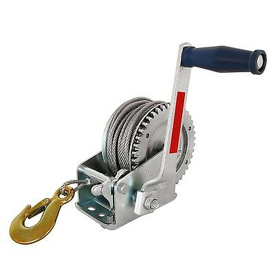 Carpoint 0623425 Hand-Operated Winch 545 kg 20 m Cable