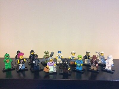 Lego Mini Figures Mixed Lot X15 Genuine Some Good Ones Less Than £2 Each