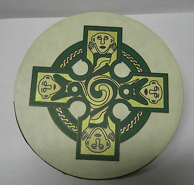 "Irish MUSIC 8"" GALLEN CROSS IRELAND Waltons Bodhran Drum Beater 2 Items"