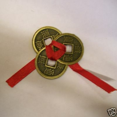 3 Chinese Lucky Coins/ Wealth Coins Feng Shui Wealth Abundance Chinese New Year