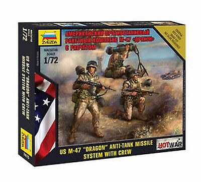 "Zvezda - U.S. M-47 ""Dragon"" anti-tank missile system with crew - 1:72"