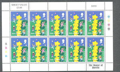Isle of Man -Europa sheet mnh 2000 issue-Cartoons-CEPT-Europa