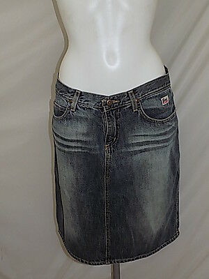 Roy Roger's Jeans Gonna Skirt Woman Donna 32 46 Vintage M4524