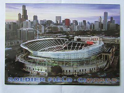 Stadionpostkarte, Soldier Field, Chicago, Chicago Bears NFL Football Team, USA