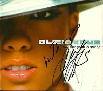 Alicia Keys signed import version Songs in A Minor