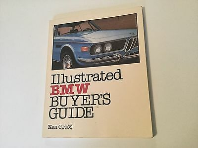 BMW illustrated  1984 Buyer's Guide by Ken Gross