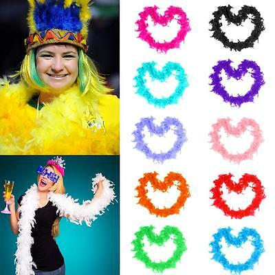 2m Home Costume Dressup Boa Fluffy Flower Party Decor Feather