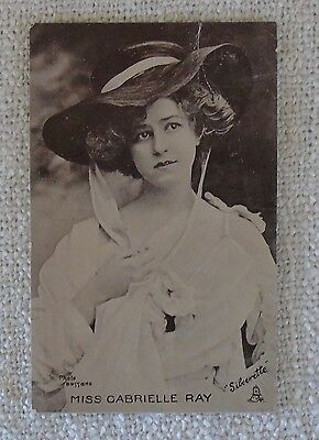 Miss Gabrielle Ray, Edwardian Actress ,Celebrities of the Stage. no.6575, Tuck's