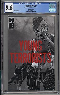 Young Terrorists 2 Convention Edition - CGC 9.6