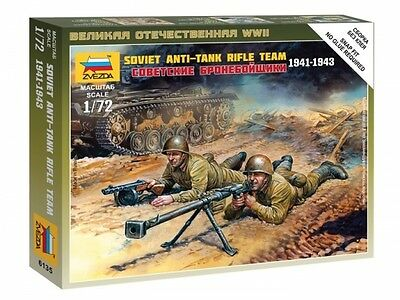 Zvezda - Soviet anti-tank rifle team 1941-1943 - 1:72