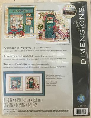 DIMENSIONS CROSS STITCH KIT 35317 Afternoon in provence PUNTO CROCE