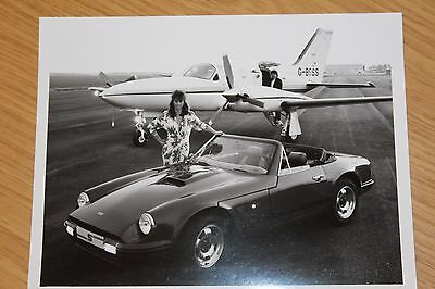 TVR S Convertible Press Photograph 215 by 165 mm
