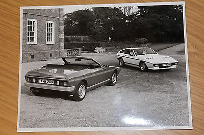 TVR Tasmin Convertible and Fixed Head Press Photograph 215 by 165 mm