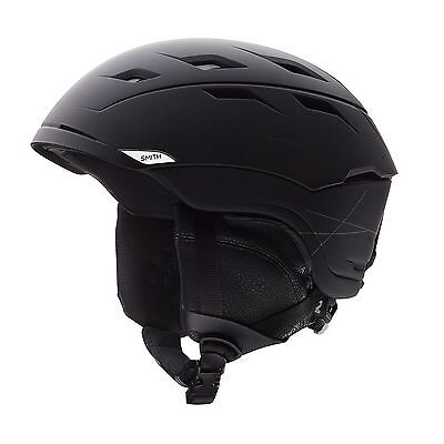 Smith Helmet Men's Sequel Ski Helmet Matte Black Large