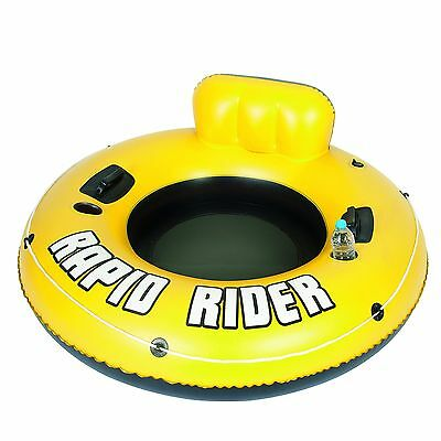 Bestway The Rapid Rider Inflatable Pool Lounger (Yellow)