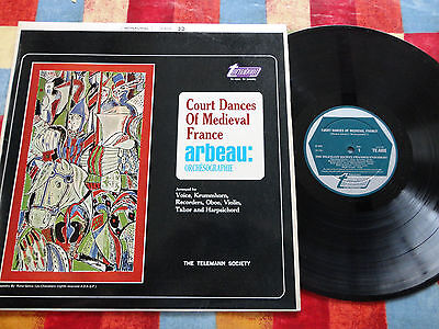 Court Dances of Medieval France LP TV 4008 1966  **EX/NEAR MINT**