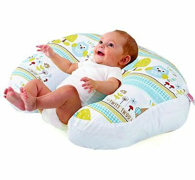 Love2Sleep BABY FEEDING/ NURSING PILLOW - COMPLETE SUPPORT - OWLS
