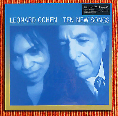 LEONARD COHEN - TEN NEW SONGS   180g Audiophile LP   Music On Vinyl  SEALED