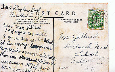 Genealogy Postcard - Family History - Gillard - Catford - London S.E. U2082