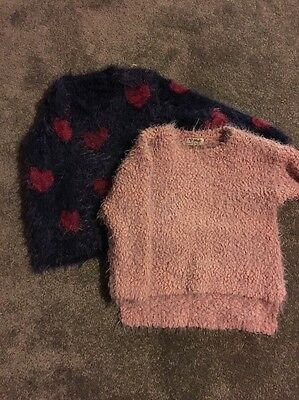 2 X Girls Jumpers