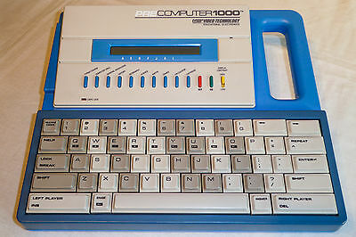 Boxed Vintage VTECH Pre Computer 1000 - Immaculate with instructions - 1988