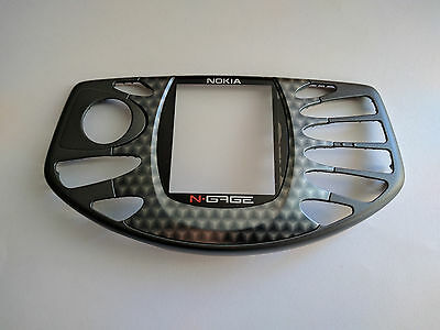 Genuine Original Nokia N-Gage Front fascia cover housing Black