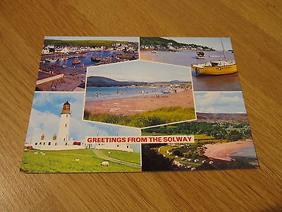 NEW Postcard The Solway Multiview Dumfries & Galloway Whiteholme Dundee Scotland