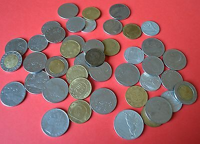 Collection of coins from Italy