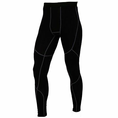 Mens Compression tights Base layer long pants legging running tights pants