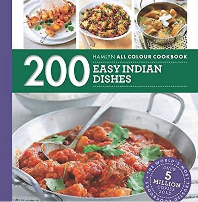 200 Easy Indian Dishes Hamlyn Recipe NEW Paperback Cook Book Home Cookbook Curry
