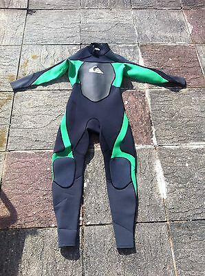 Mens Adults Quiksilver Syncro Full Length Wetsuit Size LS Large Short 3/2mm