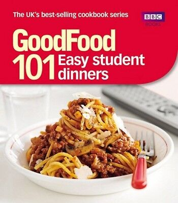 Good Food Easy Student Dinners Paperback Cook Book Budget Cheap Recipe Cookbook