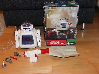 Alps Roboter Lasar Robot Made in Japan Light Control Spacetoy Ovp 70er Jahre